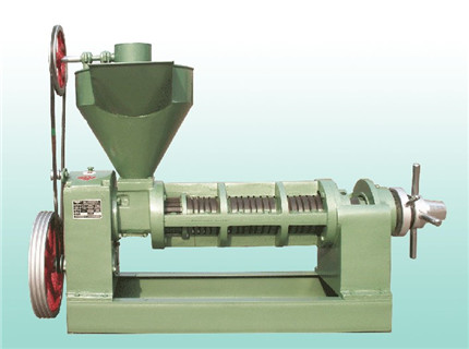 传统榨油机早已被新型节能环保榨油机所取代